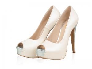 Pantofi mireasa- Topaz