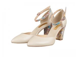Pantofi mireasa-P176N Peony