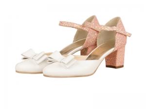 Pantofi mireasa- P45N Rosaly