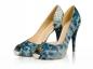 Pantofi dama Blue Piton
