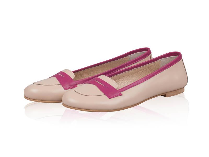 Balerini dama- B117 Creamy