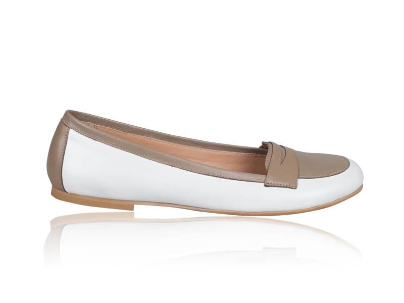Balerini dama-B117 White