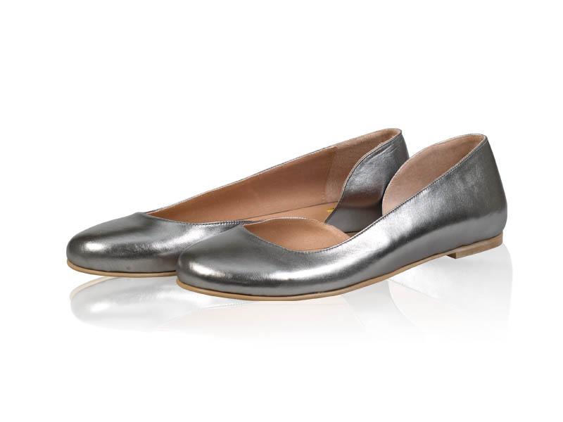 Balerini dama -B122 Metalic
