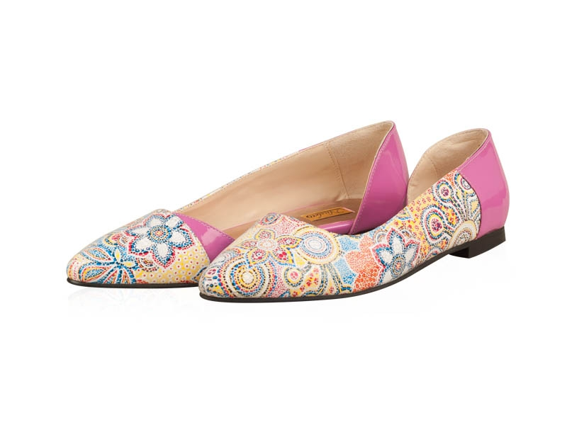 Balerini dama-B209N Floral