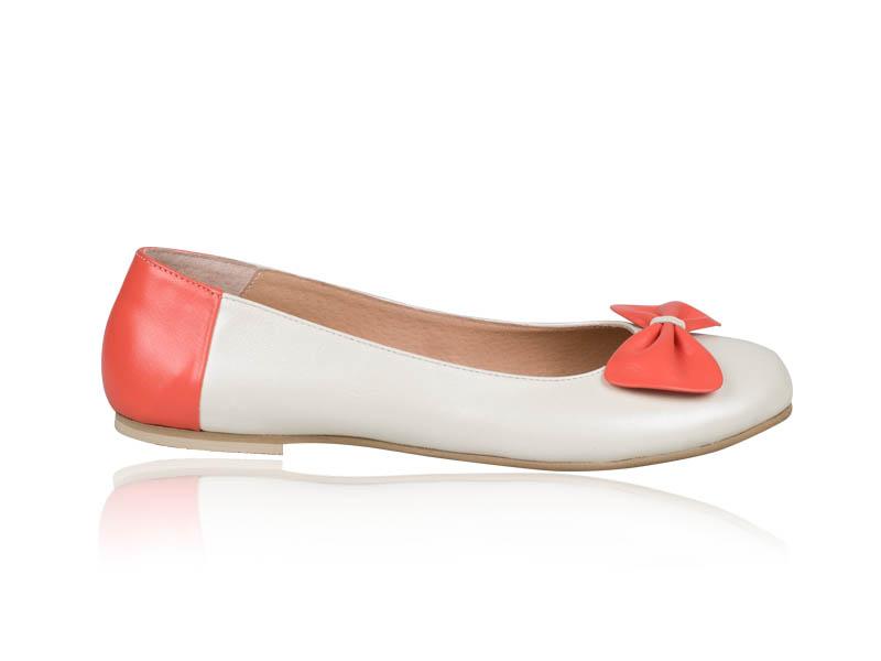 Balerini dama- B79 Orange Ribbon