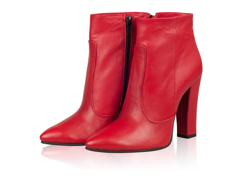 Ghete dama Red Amber