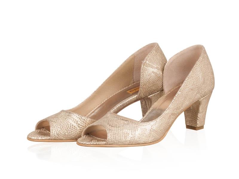 Pantofi dama Gold