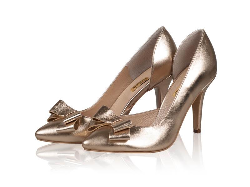Pantofi dama Gold Stiletto