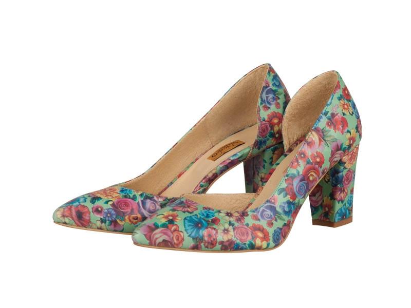 Pantofi dama-P08N Rosa