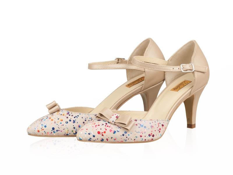 Pantofi dama- P176N Dots