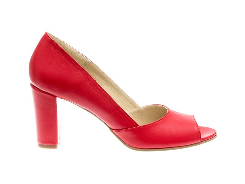 Pantofi dama-P23N Rouge