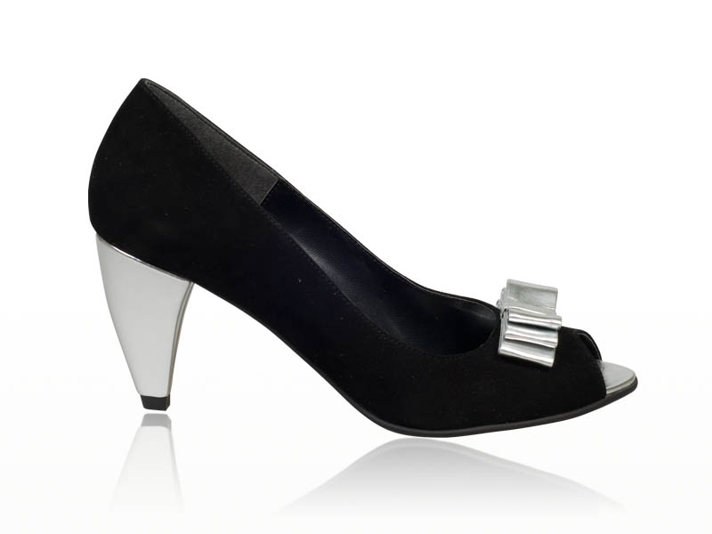 Pantofi dama- P27FD Shine black