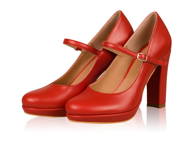 Pantofi dama- P27N Red