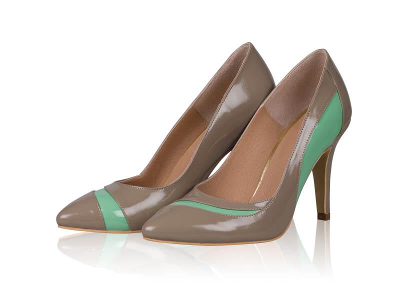Pantofi dama- P43N Mint Coffee