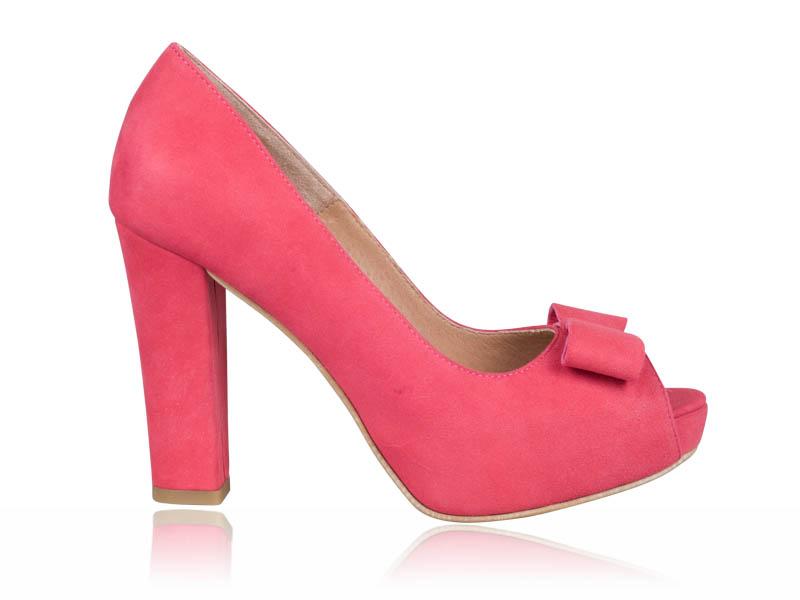 Pantofi dama-P67 Pink