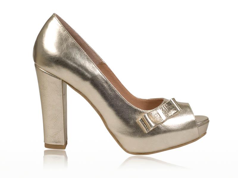 Pantofi dama- P67F Auriu
