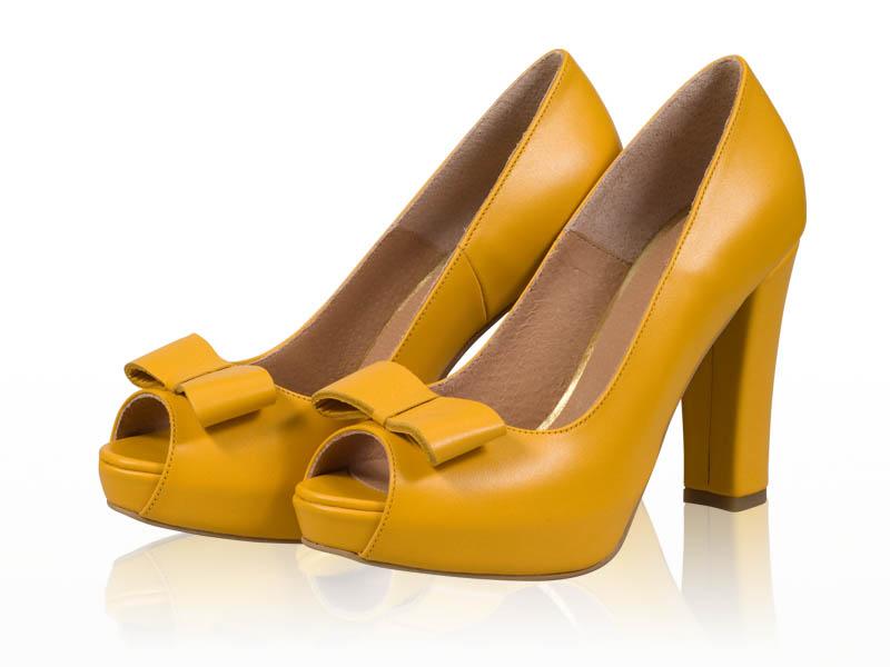 Pantofi dama-P67F Yellow