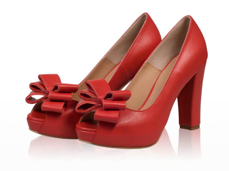 Pantofi dama-P67F3 Rosu