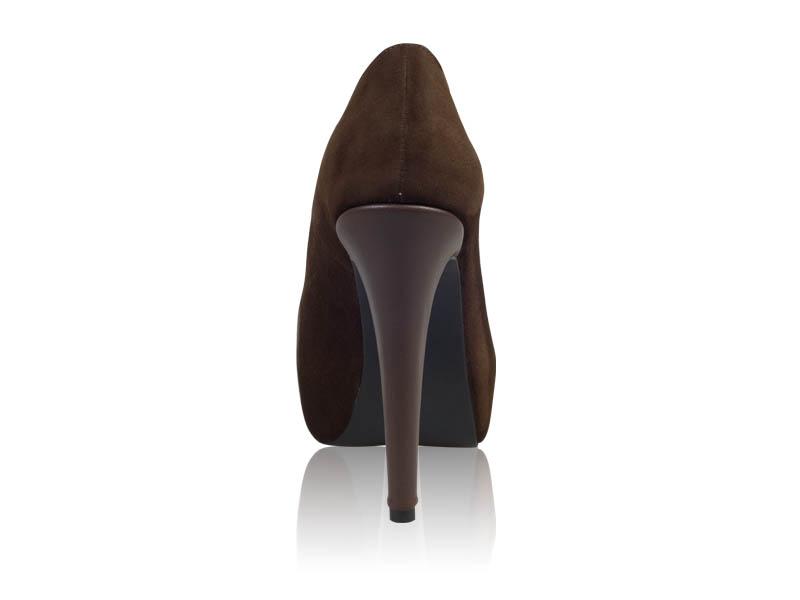 Pantofi dama-P75 Brown