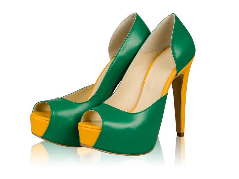 Pantofi dama- P83N Verde