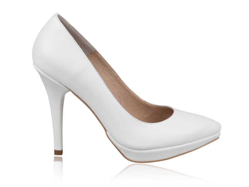 Pantofi mireasa Absolut White