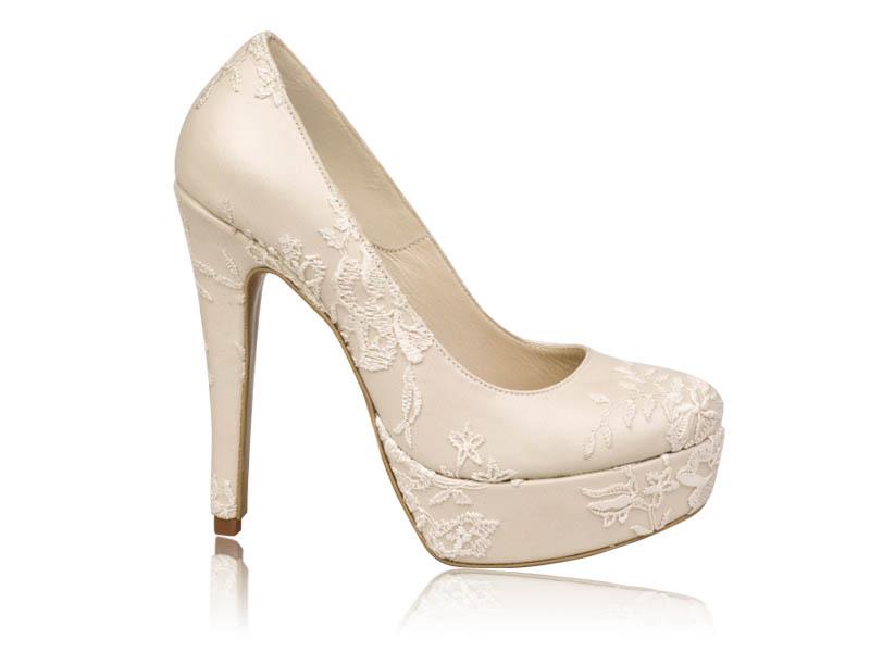 Pantofi mireasa Bride Ivory