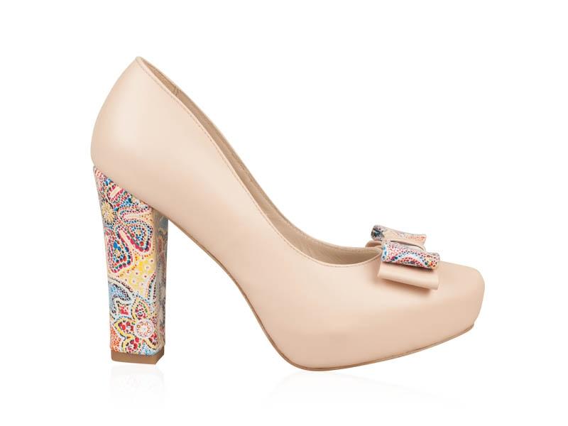 Pantofi mireasa Flor