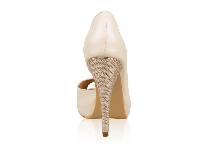 Pantofi mireasa Gold