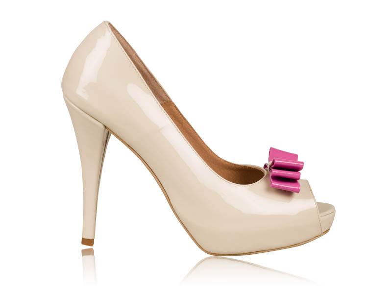 Pantofi mireasa Pink Bride