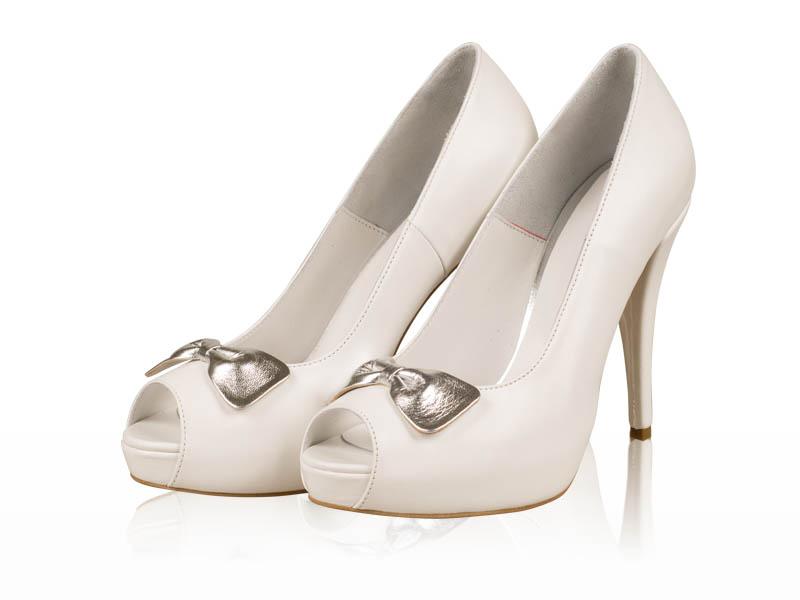Pantofi mireasa Silver