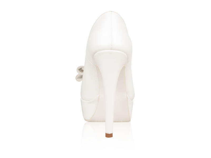 Pantofi mireasa White