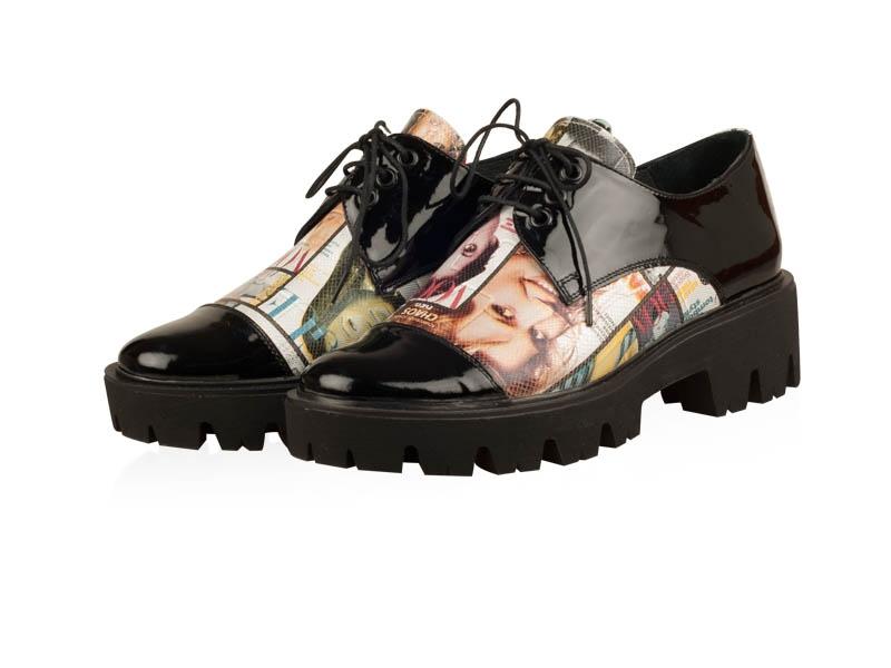 Pantofi oxford-P214N Star