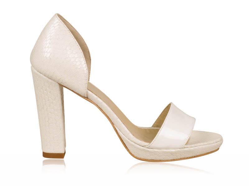 Sandale mireasa White B